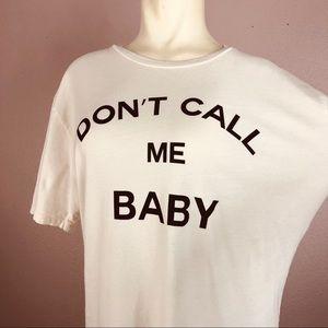 "Wildfang ""Baby"" T-Shirt"